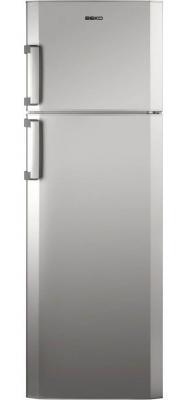 Холодильник Beko DS 333020 S серебристый встраиваемый холодильник beko bu 1100 hca