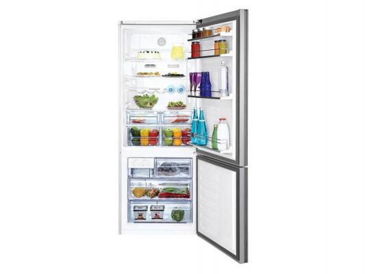 Холодильник Beko CNE 47520 GB серебристый