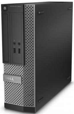 Системный блок DELL Optiplex 3020 SFF i3-4160 3.6GHz 4Gb 500Gb HD4400 DVD-RW Ubuntu клавиатура мышь серебристо-черный 3020-6835