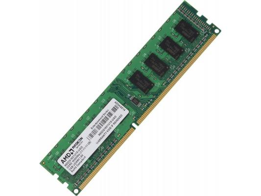 Оперативная память 2Gb (1x2Gb) PC3-12800 1600MHz DDR3 DIMM CL11 AMD R532G1601U1S-UGO цена
