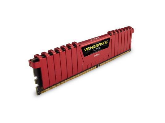 Оперативная память 4Gb PC4-19200 2400MHz DDR4 DIMM Corsair CMK4GX4M1A2400C14R оперативная память corsair cmk4gx4m1a2400c14r dimm 4gb ddr4 2400mhz dimm 288 pin 1 2в pc 19200 cl15