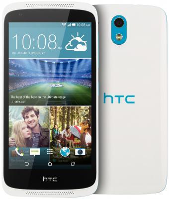 """Смартфон HTC HTC Desire 526G белый синий 4.7"""" 8 Гб Wi-Fi GPS"""