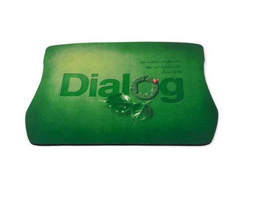 Коврик для мыши Dialog PM-H20 зеленый с рисунком