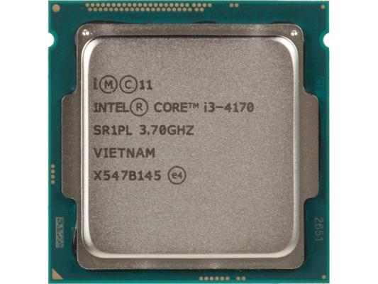 Процессор Intel Core i3-4170 3.7GHz 3Mb Socket 1150 BOX процессор intel core i3 4170 3 7ghz 3mb socket 1150 oem