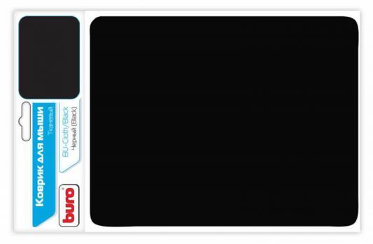 Коврик для мыши Buro BU-CLOTH ткань черный
