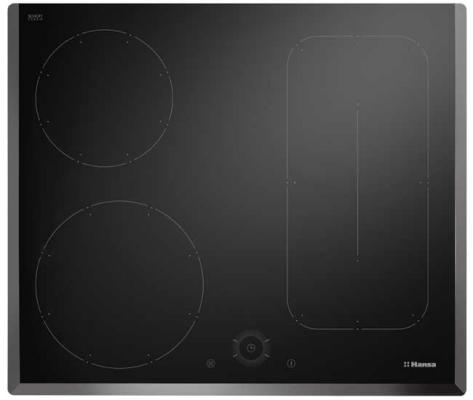Варочная панель электрическая Hansa BHI68628 черный варочная панель электрическая hansa bhiw 68303 белый