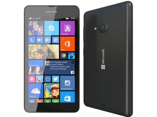 "Смартфон Microsoft Lumia 640 Dual Sim черный 5"" 8 Гб GPS Wi-Fi LTE NFC"