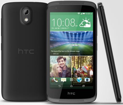 "Смартфон HTC Desire 526G Dual черный 4.7"" 8 Гб Wi-Fi GPS"