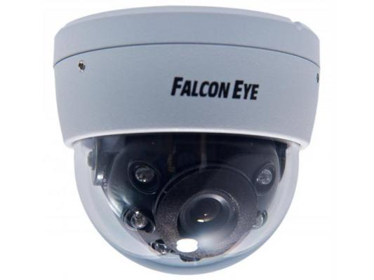 "Камера видеонаблюдения Falcon Eye FE DA82/10M уличная цветная матрица 1/3"" CCD 480твл 3.6мм белый"