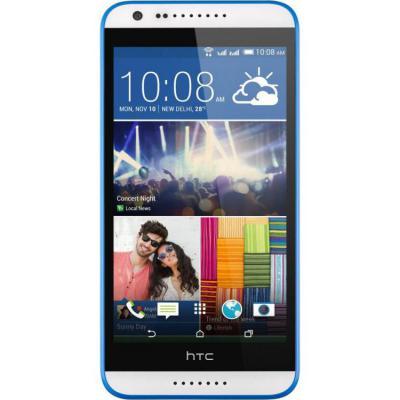 """Смартфон HTC Desire 620G Dual белый синий 5"""" 8 Гб Wi-Fi GPS"""