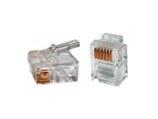 Вилка Ningbo TL-RJ-11 RJ-11 6p4c 100шт коннектор rj 12 6p4c 100шт proconnect 05 1012 3