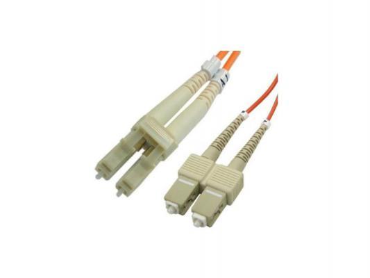 Патч-корд Brand-Rex LC-SC волоконно-оптический шнур Duplex 2м HOPLC050020SC293