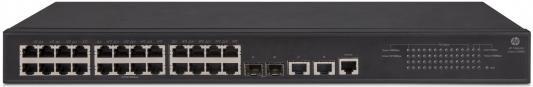 Коммутатор HP 1950-24G-2SFP+-2XGT управляемый 24 порта 10/100/1000Mbps 2xSFP JG960A коммутатор hp 1420 24g 2sfp
