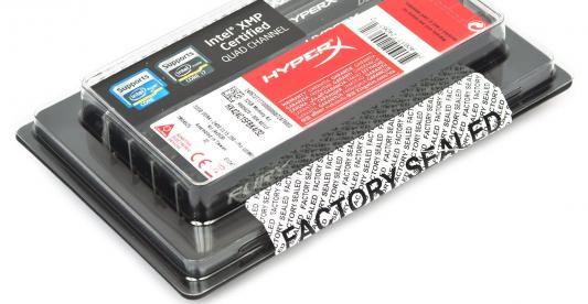 Оперативная память 16Gb (4x4Gb) PC4-19200 2400MHz DDR4 DIMM CL15 Kingston HX424C15FBK4/16 память ddr4 kingston kvr21r15s8k4 16 4х4gb dimm ecc reg pc4 17000 cl15 2133mhz