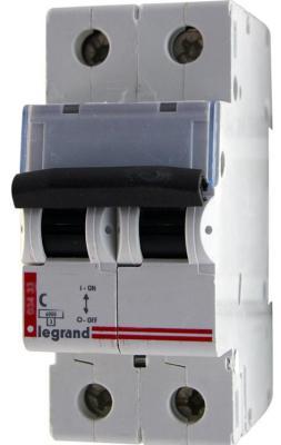 Автоматический выключатель Legrand DX3 6000 10кА тип C 2П 16А 407800