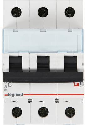 Автоматический выключатель Legrand DX3-E 6000 6кА тип C 3П 40А 407295