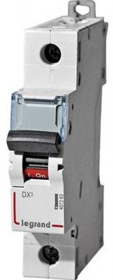 Автоматический выключатель Legrand DX3 6000 10кА тип C 1П 20А 407671  автоматический выключатель legrand dx3 e 6000 6ка тип с 1п 20а 407264