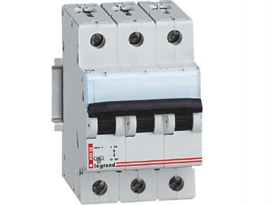Автоматический выключатель Legrand DX3 6000 10кА тип C 3П 40А 407863 автоматический выключатель tdm ва47 100 4р 20а 10ка с sq0207 0080