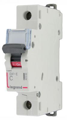 Автоматический выключатель Legrand DX3-E 6000 6кА тип C 1П 25А 407265 автоматический выключатель legrand 1p c 25а tx3 6ка 404030