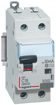Выключатель дифференциального тока Legrand DX3 1П+Н C40А 30MA-AC 411006