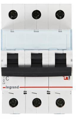 Автоматический выключатель Legrand TX3 6000 тип C 3П 20А 404057 выключатель автоматический legrand tx3 3п c 20а 6ка