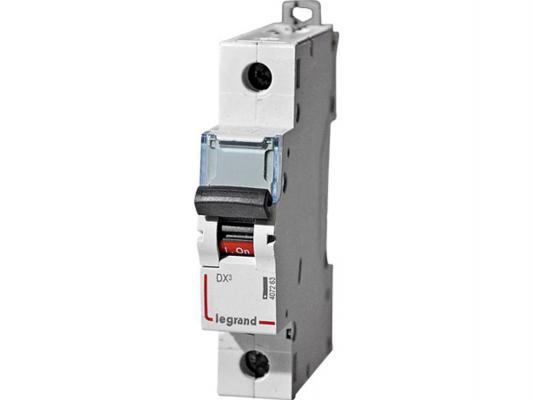 Автоматический выключатель Legrand DX3 6000 10кА тип C 1П 16А 407670 автоматический выключатель tdm ва47 100 1р 35а 10ка d sq0207 0006