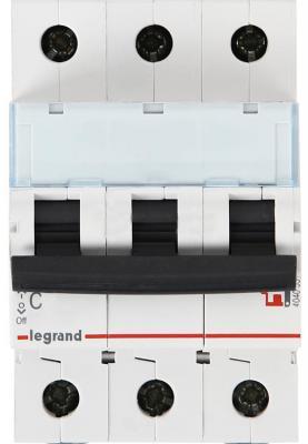 Автоматический выключатель Legrand DX3-E 6000 6кА тип C 3П 13А 407290 автоматический выключатель tdm ва47 29 4р 13а 4 5ка в sq0206 0057