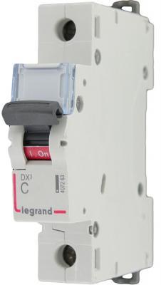Автоматический выключатель Legrand TX3 6000 тип C 1П 50А 404033