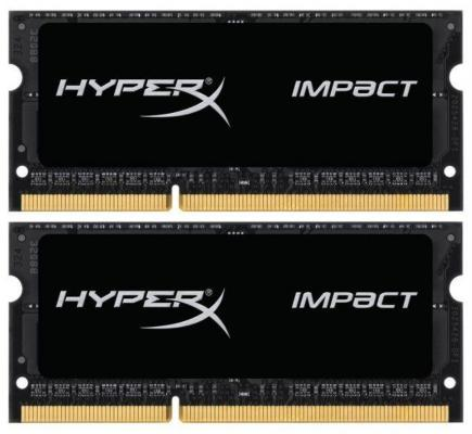 Оперативная память для ноутбуков SO-DDR3 16Gb (2x8Gb) PC15000 1866MHz Kingston HX318LS11IBK2/16 оперативная память kingston kvr24r17s4 16