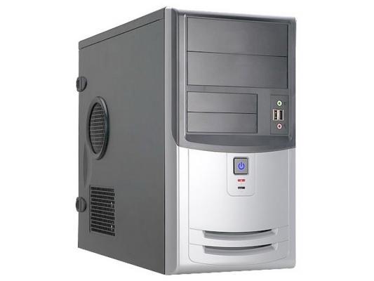 Корпус microATX InWin EMR-018 450 Вт чёрный серебристый