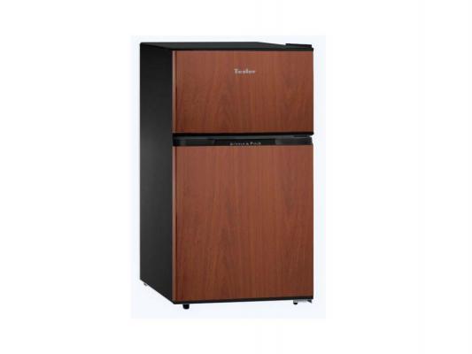 Холодильник TESLER RCT-100 Wood коричневый
