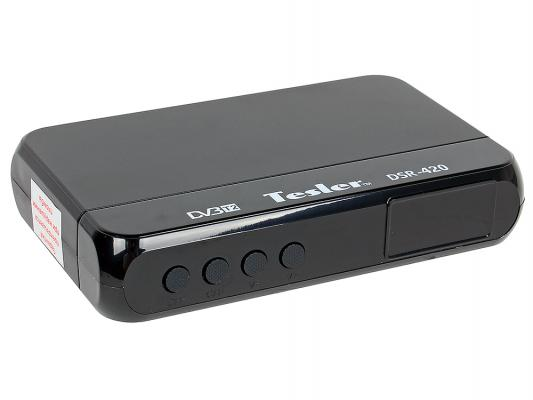 Тюнер цифровой DVB-T2 TESLER DSR-420