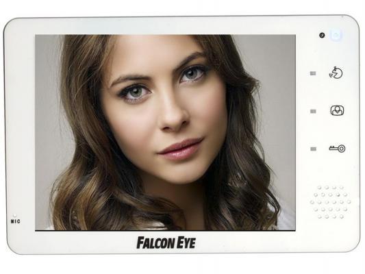Комплект видеонаблюдения Falcon Eye FE-74R WHITE+ FE-311C цветной видеодомофон/вызывная панель
