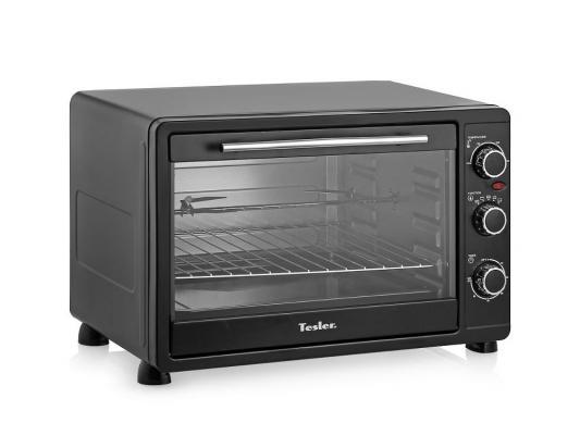 Мини-печь TESLER EOG-4500 чёрный морозильник tesler rf 90 белый