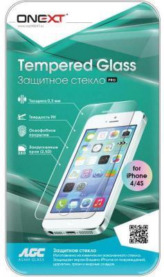 Защитное стекло Onext 28381 для iPhone 4 iPhone 4S