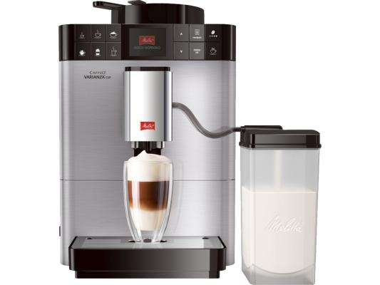 Кофемашина Melitta Caffeo Varianza CSP F 570-101 серебристый  цена