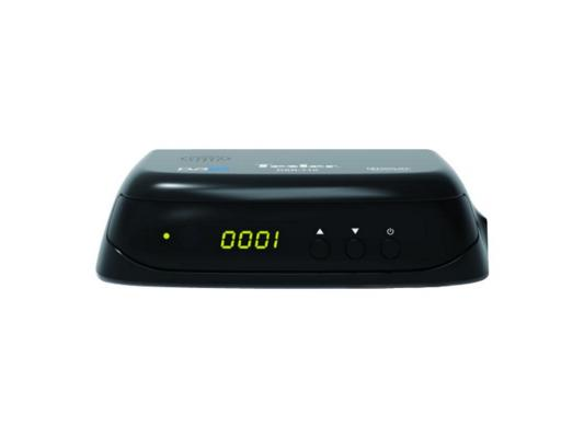 Тюнер цифровой DVB-T2 TESLER DSR-710 тюнер цифровой dvb t2 tesler dsr 720