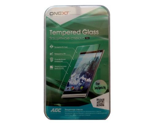 Защитное стекло ONEXT для Sony Xperia E4g 40941 защитное стекло onext для sony xperia e4g 40941