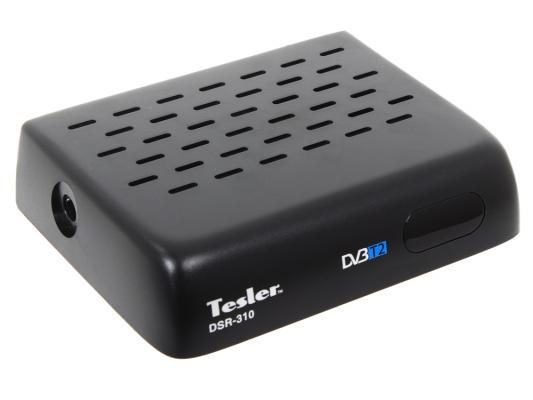 Тюнер цифровой DVB-T2 TESLER DSR-310 тюнер цифровой dvb t2 tesler dsr 720