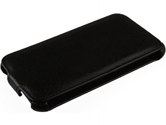 Чехол LP для Samsung G900F Galaxy S5  раскладной кожа черный R0003108