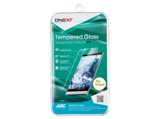 Защитное стекло ONEXT для Sony Xperia E4 40913 защитное стекло для sony e5303e5333 xperia c4c4 dual onext