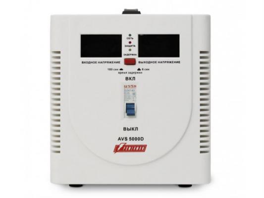 Стабилизатор напряжения Powerman AVS 5000D белый 1 розетка