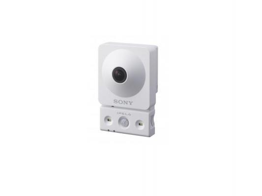 """Видеокамера IP Sony SNC-CX600W 1/4"""" 1.83мм 1280x720 H.264 MJPEG белый"""