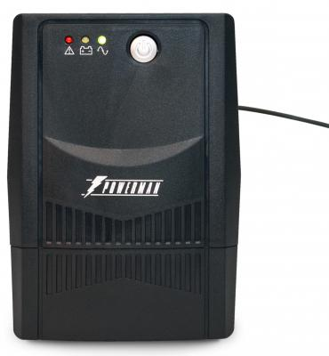 ИБП Powerman Back Pro 600 Plus 600VA 390Вт ибп powerman back pro 2000 plus 2000va 1360вт