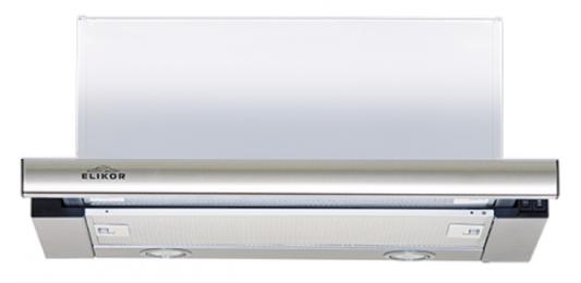 Вытяжка встраиваемая Elikor Интегра S2 60Н-700-В2Г серебристый