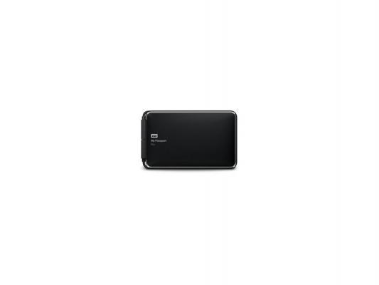 """Внешний жесткий диск 2.5"""" Thunderbolt 2 Tb Western Digital My Passport Pro WDBRMP0020DBK-EESN черный"""