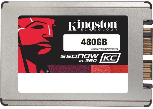 "SSD Твердотельный накопитель 1.8"" 480 Gb Kingston SSDNow KC380 Read 530Mb/s Write 340Mb/s SATAIII SKC380S3/480G"