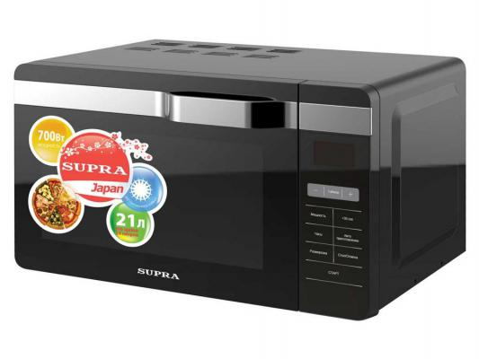 Микроволновая печь Supra MWS-2133SB 21л 700Вт черный