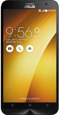 """Смартфон ASUS Zenfone 2 ZE551ML золотистый 5.5"""" 32 Гб NFC LTE Wi-Fi GPS 90AZ00A4-M01500"""