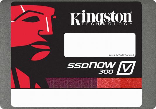 "SSD Твердотельный накопитель 2.5"" 480 Gb Kingston SSDNow V300 Read 450Mb/s Write 450Mb/s SATA III SV300S3N7A/480G"